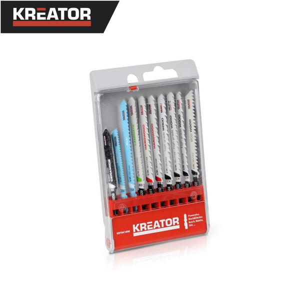 Kreator Assorted Jigsaw Blade 10B