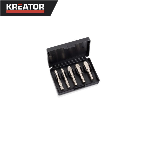 Kreator 5pcs Screw Extractors