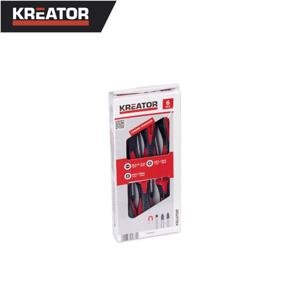 Kreator 6pcs Screwdriver Set