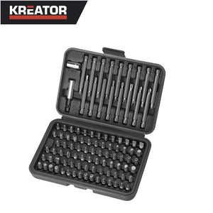 Kreator 98pcs Screwdriving Bits Set