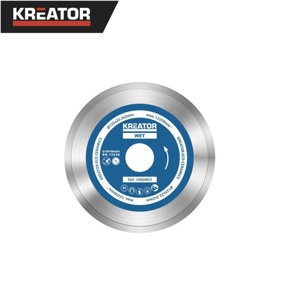 Kreator Ceramics Diamond Disc Ø125mm