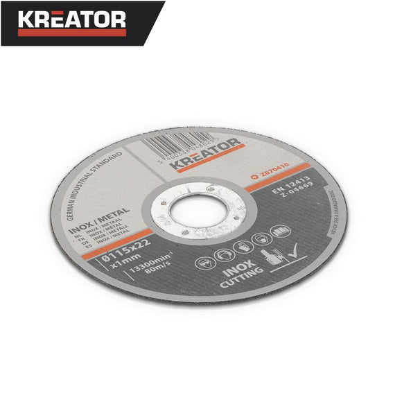 Kreator INOX/Metal Cutting Disc Ø115mm