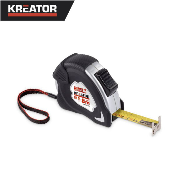 Kreator 8m Measuring Tape (Nylon Coated)
