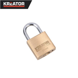 Kreator 20mm Brass Padlock