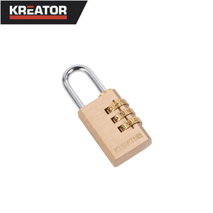 Kreator 40mm Combination Padlock (3 Digit)