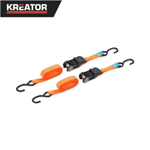 Kreator 2pcs Ratchet Tie Downs