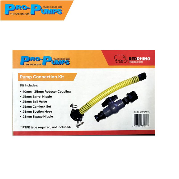 Pro-pump Tank Connection Kit