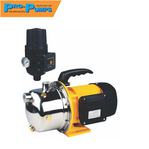 Pro-Pump 0.75 KW SS Jet Pump + Controller Booster Set