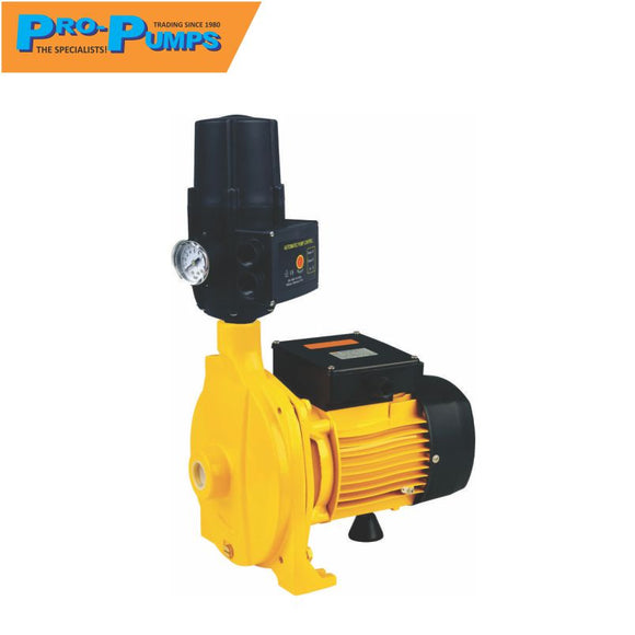 Pro-Pumps 0.55 KW Centrifugal Pump + Controller Booster Pump Set