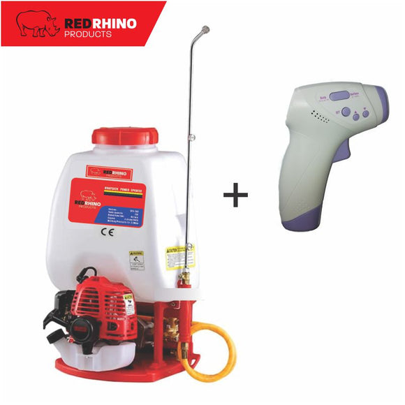 Red Rhino Knapsack Power Sprayer 25L