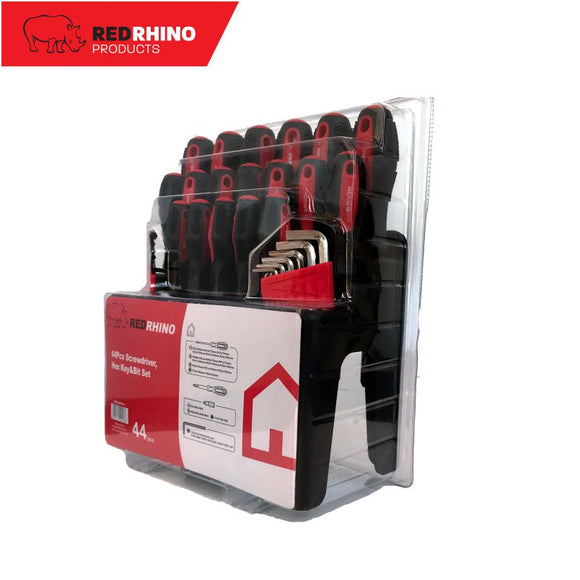 Red Rhino Screwdriver Set
