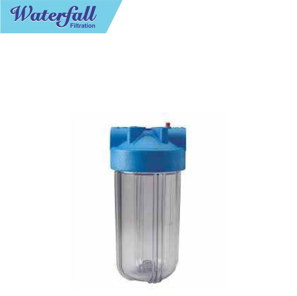Water Filtration Plastic Port Clear Housing