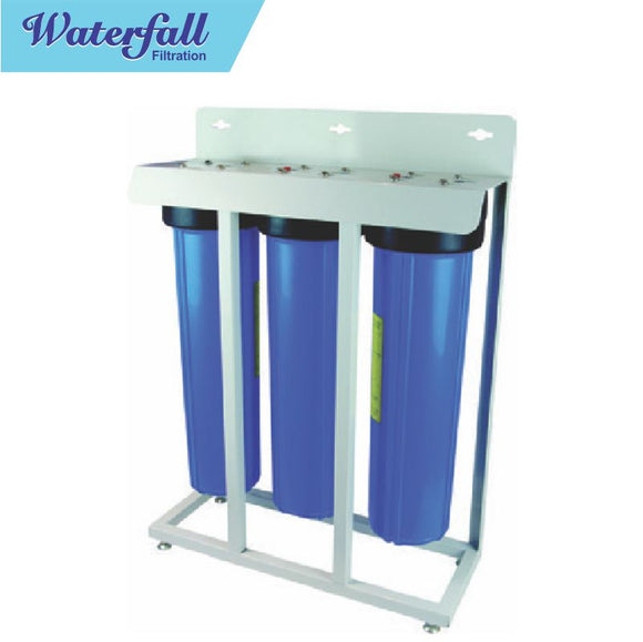 Water Filtration Triple Big Blue 20