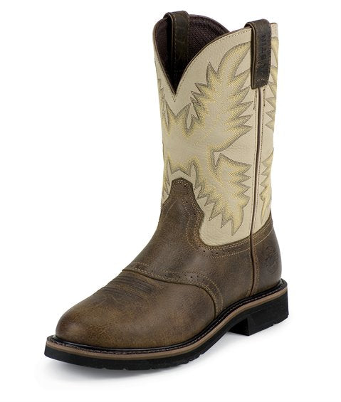 Superintendent Creme Work Boot