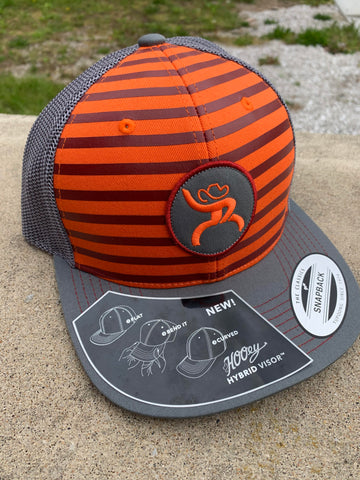 Orange Stripped Snapback