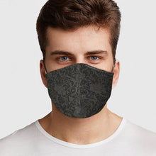 Load image into Gallery viewer, Black Lace Virus Protection Mask