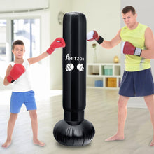 Load image into Gallery viewer, Inflatable Boxing/Martial Arts Fitness Stress Relief Punch Bag