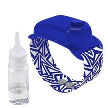 Load image into Gallery viewer, Portable Hand Hygiene Wristband + FREE Refill Bottle