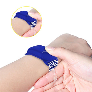 Portable Hand Hygiene Wristband + FREE Refill Bottle