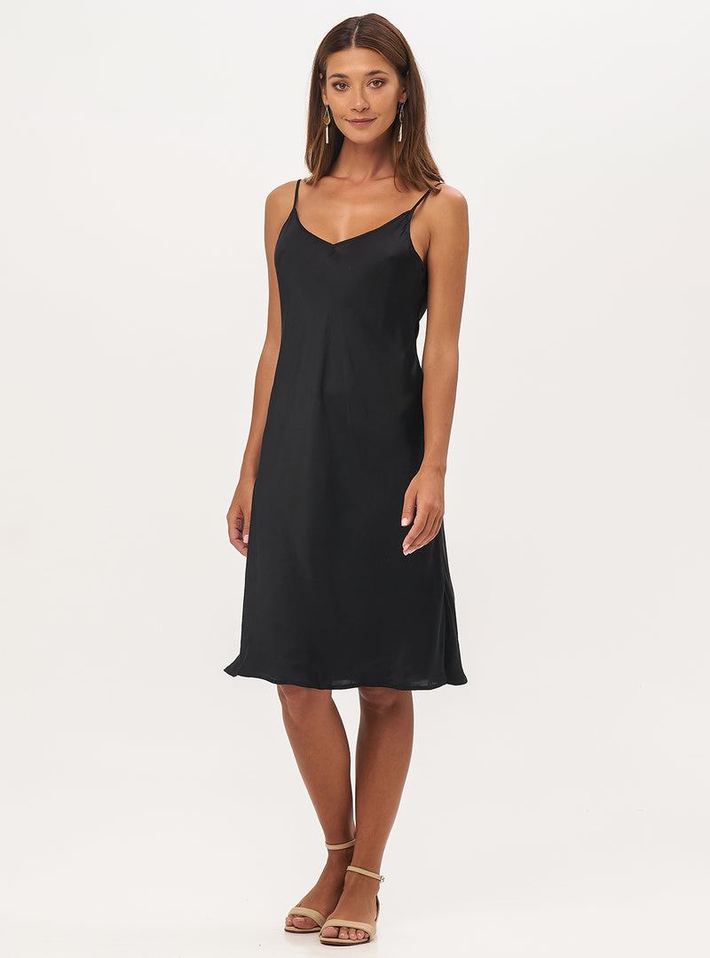 Milly Midi Slip Dress - Lily Jean