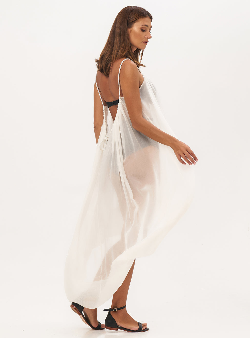 Sheer Me Out Resort Dress - Lily Jean