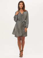 Wrap Mini Dress - Lily Jean