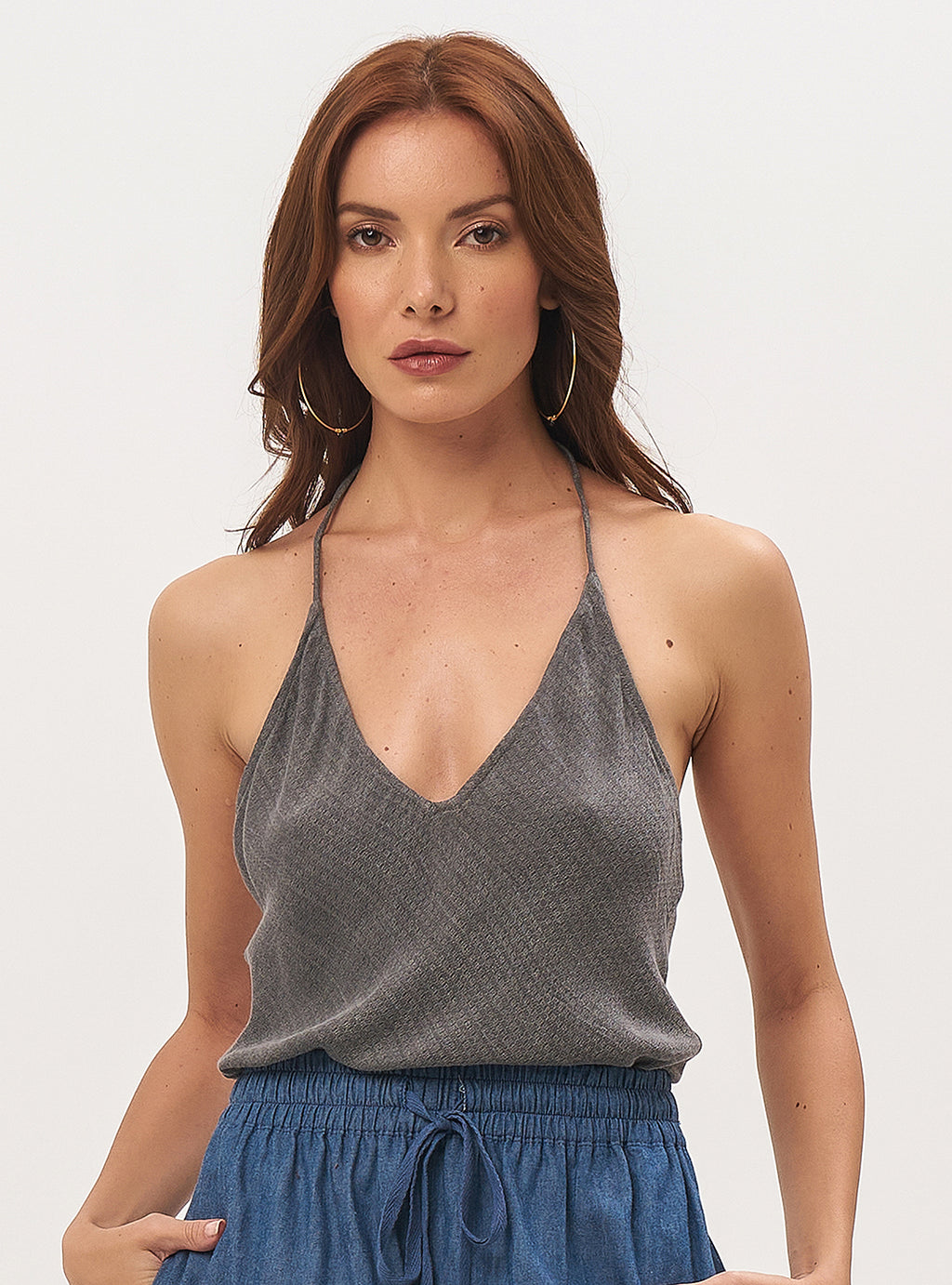 Biba Top With T-Back