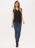 Jenna Button Up Top - Lily Jean