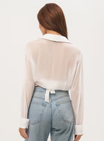 Liz Wrap Crop Top - Lily Jean