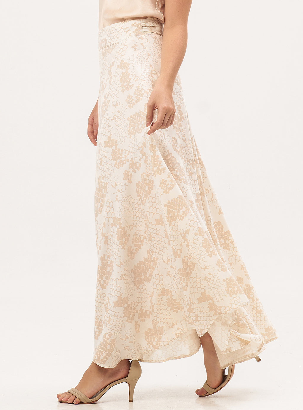 Wrap Maxi Skirt - Lily Jean
