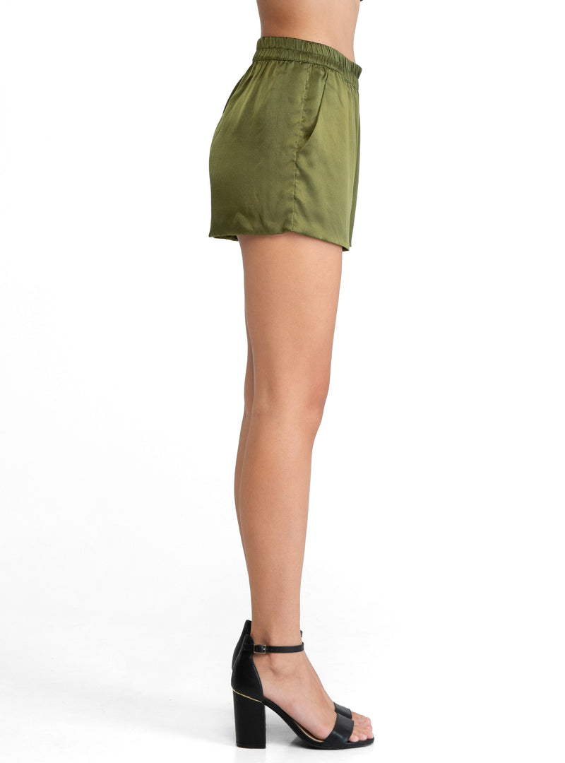 Caravan Silk Mini Shorts - Lily Jean