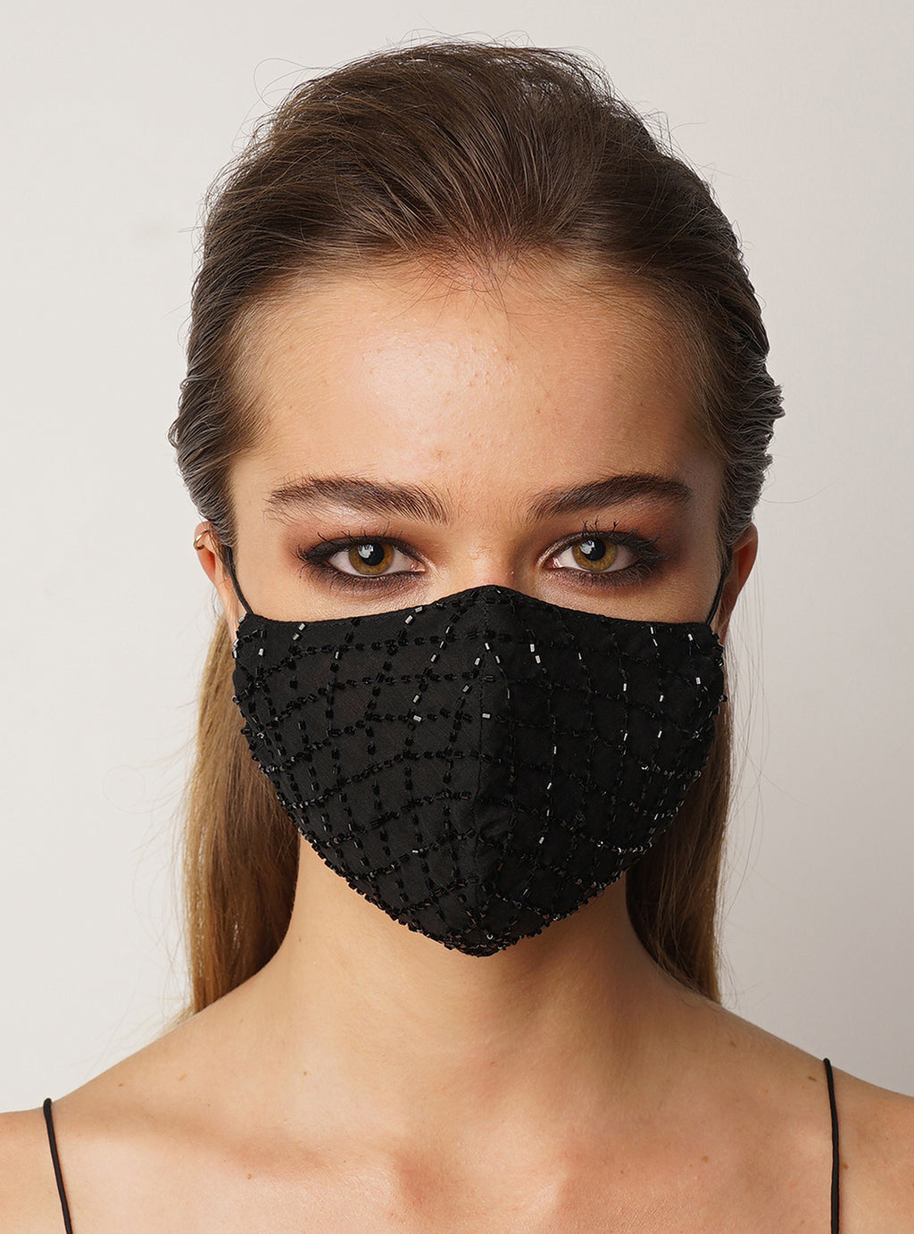 Mask Diamond Beaded - Lily Jean