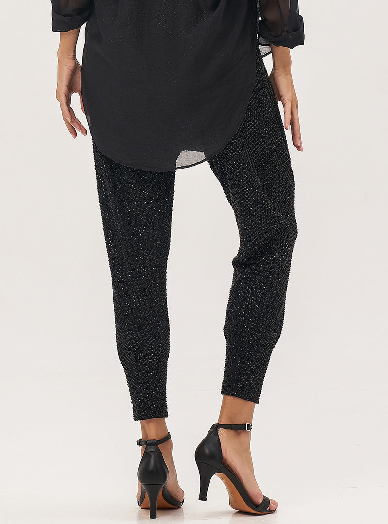 Beaded Harem Pants - Lily Jean
