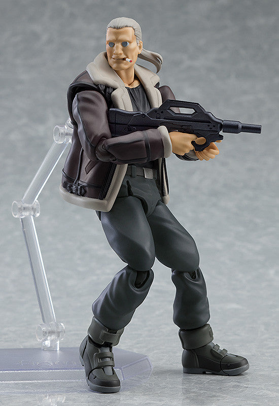 *PRE ORDER* GHOST IN THE SHELL Figma Batou: S.A.C.ver (ETA DECEMBER)