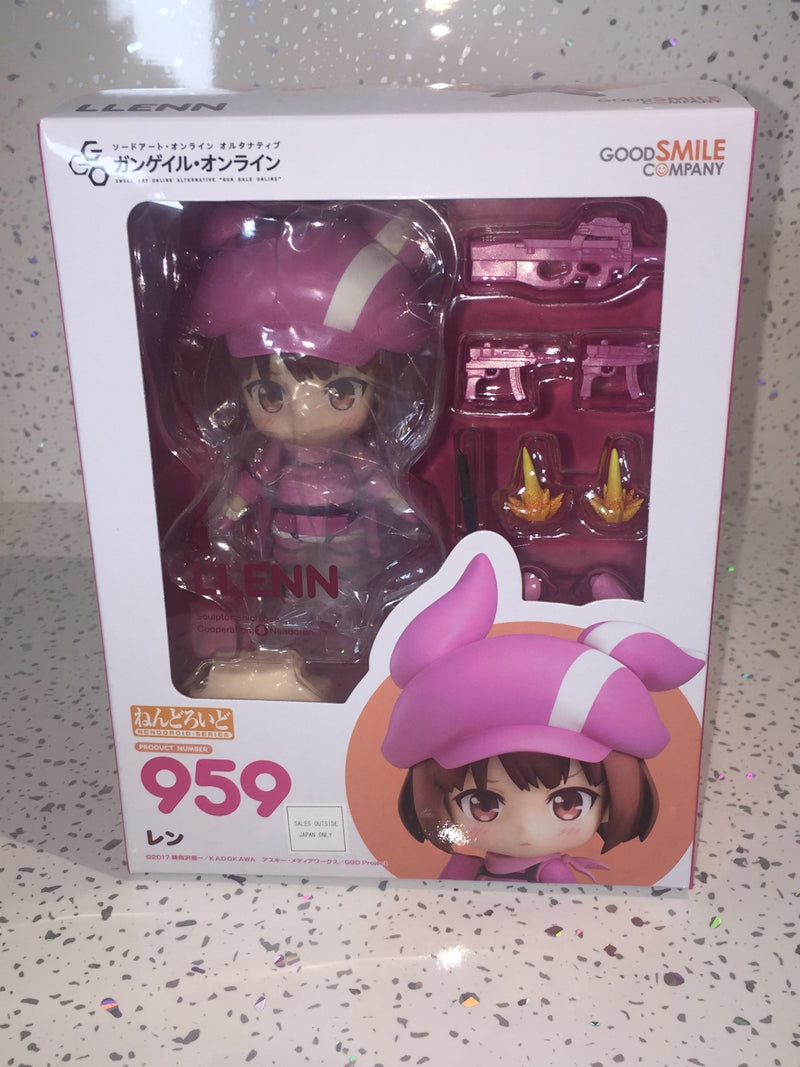 Sword Art Online Alternative Gun Gale Online Nendoroid Llenn 10 cm