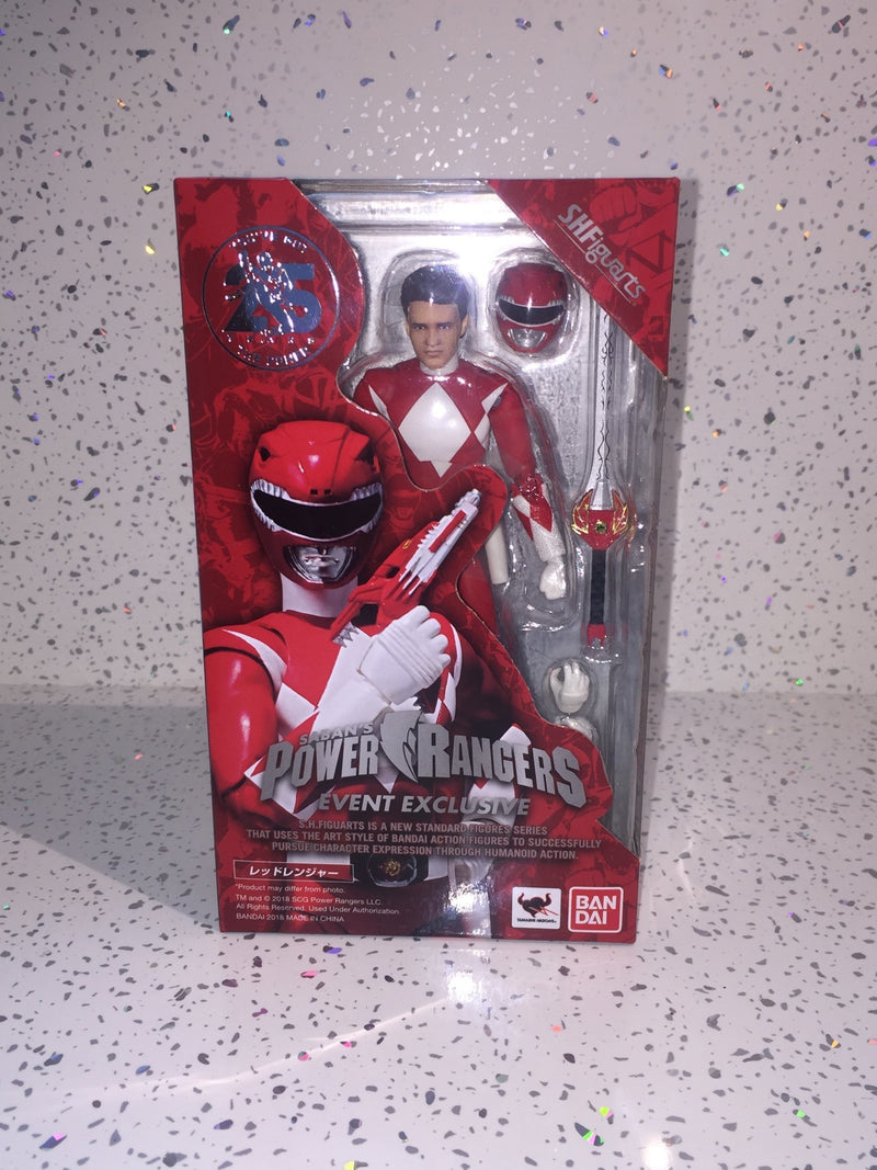 POWER RANGERS Red Ranger SDCC SH FIGUARTS