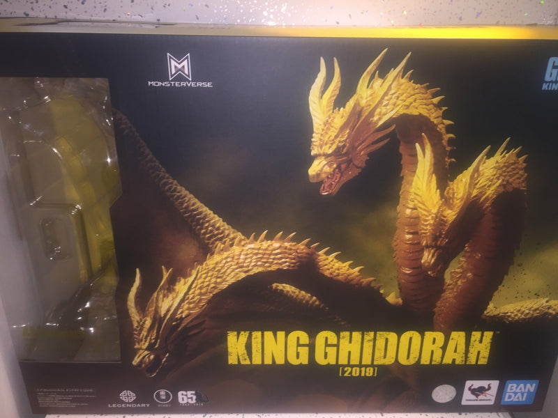 Godzilla: King of the Monsters 2019 S.H. MonsterArts Ghidorah 25 cm