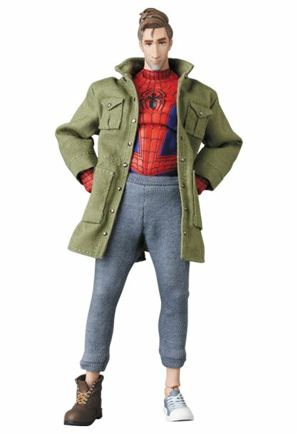 *PRE ORDER* SPIDER-MAN: INTO THE SPIDER-VERSE MAFEX No.109 SPIDER-MAN (Peter B. Parker) (ETA SEPTEMBER)