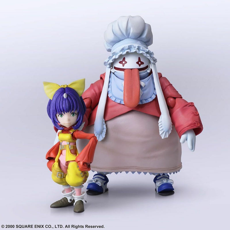 *PRE ORDER* FINAL FANTASY IX BRING ARTS - EIKO CARO & QUINA QUEN SET (ETA MAY)