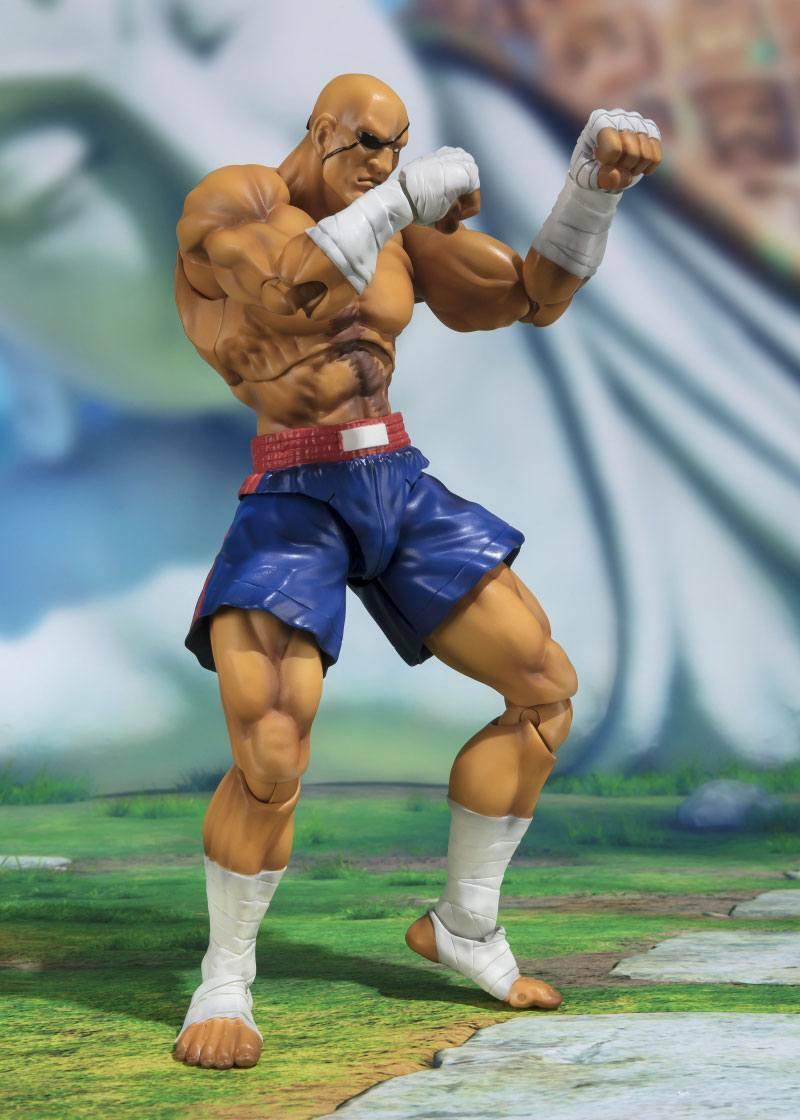 STREET FIGHTER SAGAT SH FIGUARTS