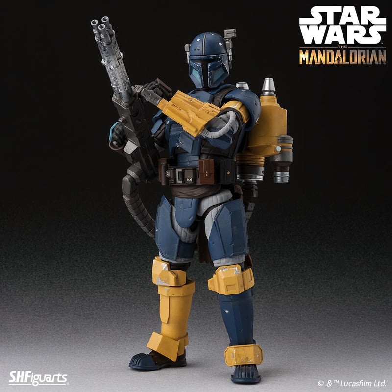 *PRE ORDER* Star Wars SH Figuarts Mandalorian Heavy Infantry (ETA MARCH)