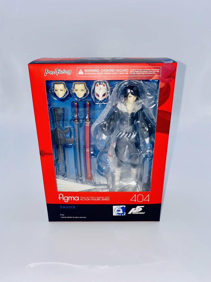 Persona 5 Figma Action Figure Fox