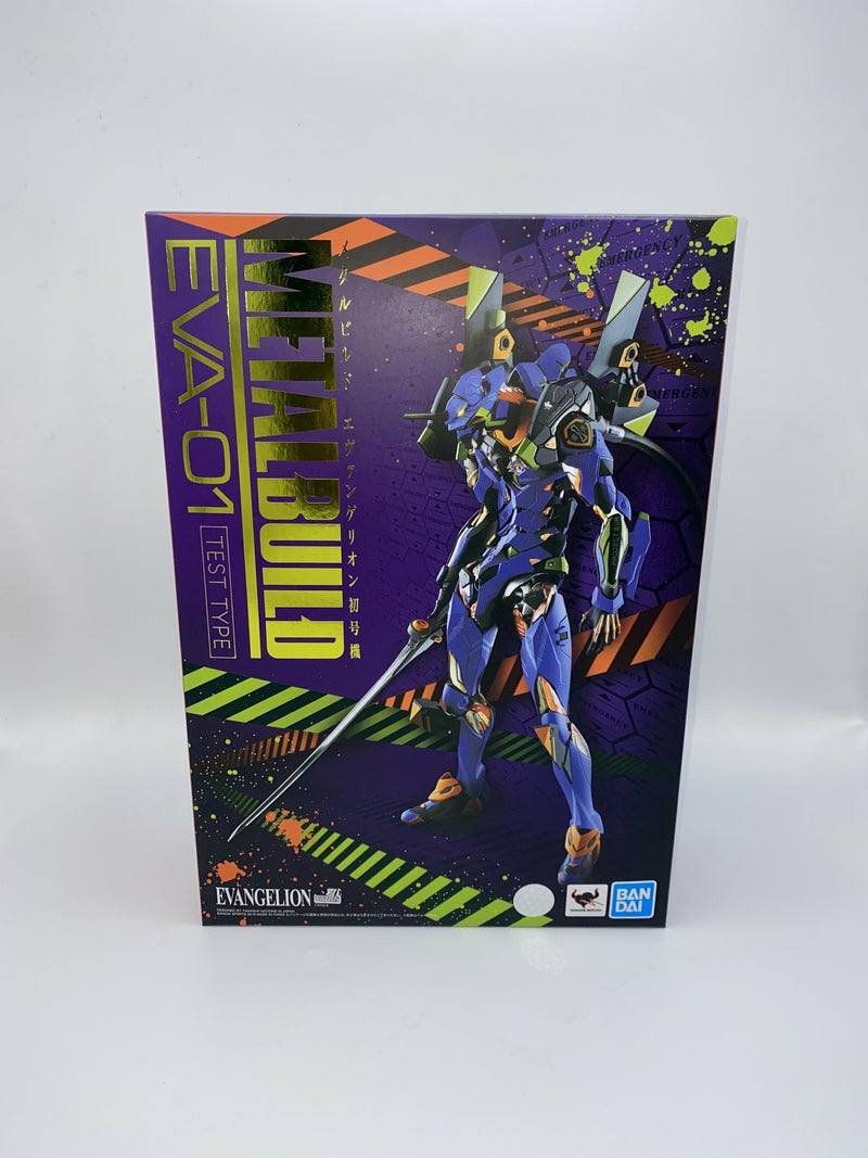 Neon Genesis Evangelion Metal Build Action Figure NG EVA-01 TEST TYPE Production Model 22 cm
