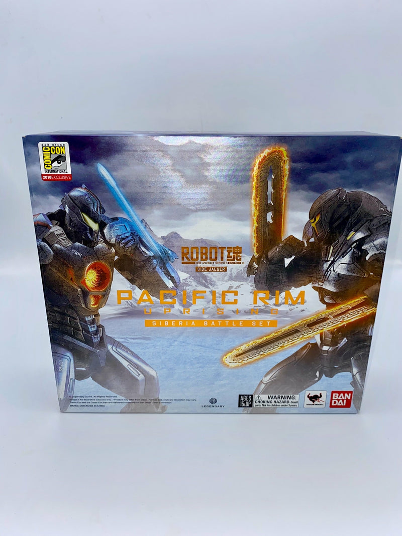 Pacific Rim: Uprising Robot Spirits Siberia Battle SDCC 2018