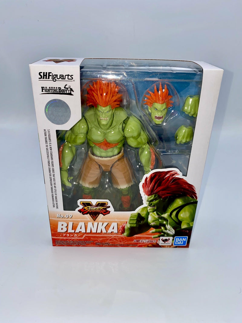 STREET FIGHTER BLANKA SH FIGUARTS