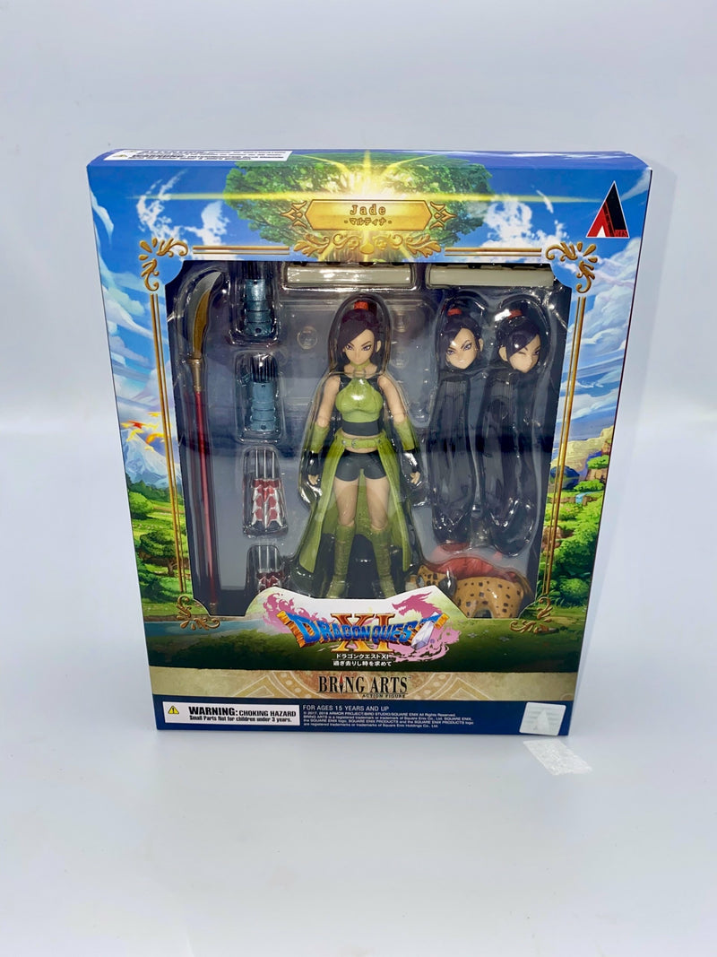 Dragon Quest XI Echoes of an Elusive Age Bring Arts Jade 15cm