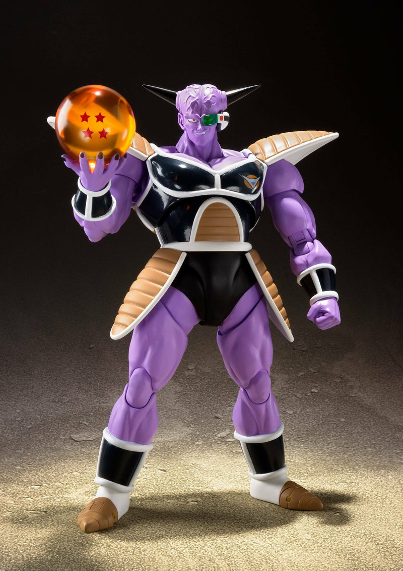 DRAGONBALL Z CAPTAIN GINYU S.H.FIGUARTS