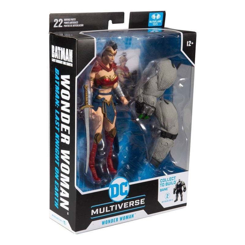 *PRE ORDER* McFarlane Toys DC Multiverse Wonder Woman (Last Knight on Earth) Build-A Parts for 'Bane' Figure (ETA FEBRUARY)