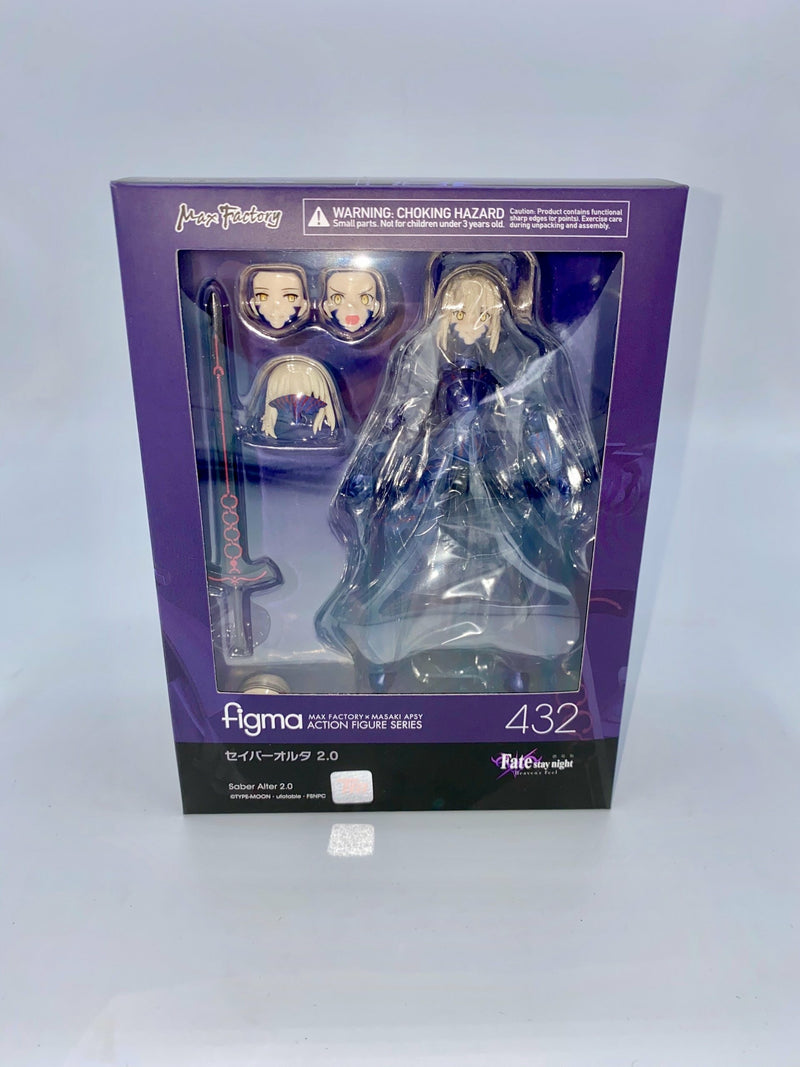 Fate/Stay Night Figma Saber Alter 2.0 14 cm