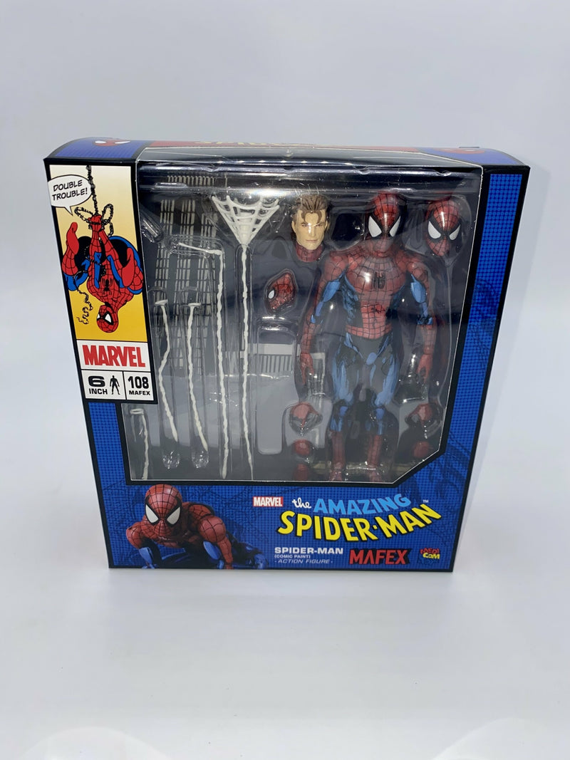 SPIDER-MAN UNLIMITED MAFEX No.108 SPIDER-MAN (COMIC PAINT)